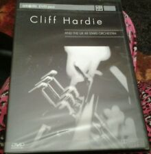 Cliff hardie jazz and all the uk stars orchestra concert dvd rare new and sealed