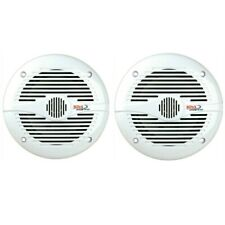 2 Boss Audio MR50W Altavoces Impermeable 13,50 CM 150 Vatios Max Piscina Barco