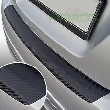 LADEKANTENSCHUTZ Schutzfolie für AUDI A4 Cabrio B7 8E ab 2006 - Carbon schwarz