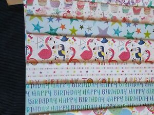 QUALITY WRAPPING PAPER - 1, 2,  3,  4, 6 SHEETS PER PACK
