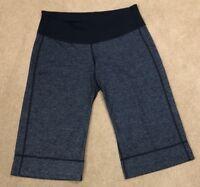 Lululemon Womens 4 Charcoal Gray Crop Loose Fit Yoga Pants