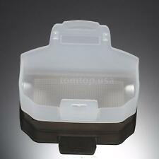 White Speedlite Bounce Reflector Flash Diffuser for YONGNUO YN685EX/YN600EX-RT