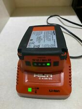 Hilti 1826 Battery Amp Charger C 436 90 Compact Fast Charging Combo