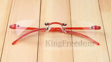TR90 light flexible Eyeglass Frames Rimless Glasses Rx able come clear lenses