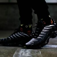 Nike Air Max Plus Black Thunder Sneakers Men's Lifestyle Comfy Shoes