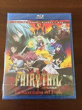 FAIRY TAIL LA PELICULA LA SACERDOTISA DEL FENIX - 85MIN - COMBO BLURAY + DVD NEW