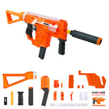 Worker MOD Orange Kriss Vector Imitation Kit 12 Items for Nerf STRYFE Modify Toy