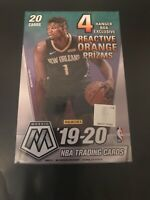 2019-2020 Panini Mosaic NBA Basketball Hanger Box Orange Prizm BRAND NEW SEALED
