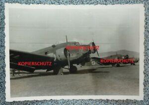 original FotoLuftwaffe Flieger JU 52 Kreta 1941 2.WK.Griechenland TOP !!