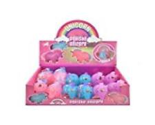 6 x Squishy Unicorn Toy - Assorted Colours - Perfect For Stress-HL500