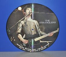 The Stranglers Interview Picture Disc Limited Edition UK BAK 2033 Vinyl clean