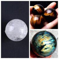 Crystal Ball Healing Citrine Natural Labradorite Rose Quartz Amethyst Sphere