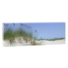 Bild Strand Meer Keilrahmen Wandbild Leinwand Nordsee XXL Düne 120 cm*40 cm 282
