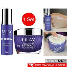 Set Olay Regenerist Retinol 24 Night Serum & Moisturiser Fragrance-Free
