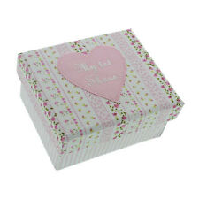 Petit Cheri - Baby Girls Pink First Shoes Keepsake Gift Box