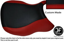 D RED BLACK VINYL CUSTOM FITS BMW R 1100 RT 94-01 & R 1150 RT 00-06 SEAT COVER