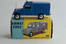 Corgi Toys No 416 RAC Radio Rescue Land Rover - Great Britain - Boxed