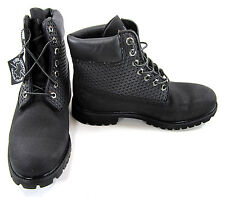 Timberland Boots 6 Inch Premium Van-Tech Hex Black Shoes Size 9