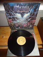 "Saxon ""Rock The Nation"" LP EMI ITA 1986 - INNER"