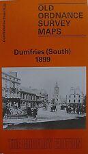 Old Ordnance Survey Map Dumfries (South) Scotland 1899 Sheet 55.03 Brand New