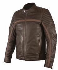 Rukka Markham Vintage Leather Mens Brown Motorcycle Motorbike Jacket