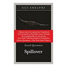 Spillover. L'evoluzione delle pandemie (Italiano) Copertina