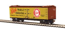 HO MTH  R40-2 Wood Reefer Roberts & Oake Meats RAOX       8094051