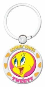 Tweety Bird Spinner Key Ring - Warner Bros Looney Tunes - Tweety
