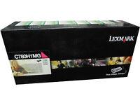 Lexmark C780H1MG Magenta High Yield Toner Cartridge Genuine OEM Original
