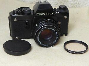 Pentax LX 35mm Professional SLR Camera Body + FA 1 Serviced aug 2021 +50mm