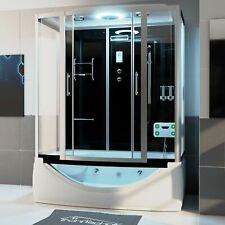 Duschtempel Duschkabine Whirlpool Wanne Eckwhirlpool Badewanne Dusche 170x90