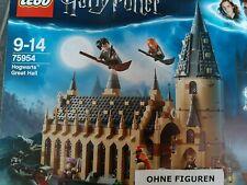LEGO HARRY POTTER 75954 DIE GROßE HALLE VON HOGWARTS (OHNE FIGUREN + TIERE) NEU