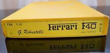 G. Robustelli Metal Cast Kit 1/18 FERRARI F40 TRANSKIT SET FOR BURAGO #R802