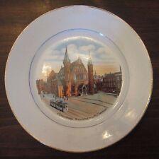 s'Gravenhage Binnenhof met Ridderzall Collector Plate Holland Societe Ceramique