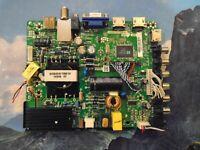 Polaroid 32GSR3000 TP.MS3393.PB851 Main Board power supply V400HJ6-PE1