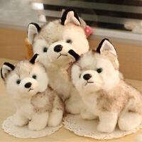 Cute Husky Dog Plush Toy Doll Stuffed Pillow Home Sofa Decor Child Xmas Gift
