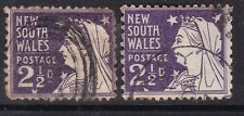 New South Wales^1895#100 x2 Victorias Classics @xxlar1925nxw2555
