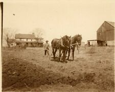 Farm Scene The Plowman African American Occupational Sepia Philadelphia