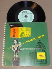 Story Of The Music Box book & record set 1952 history antiques 19 melodies Ex