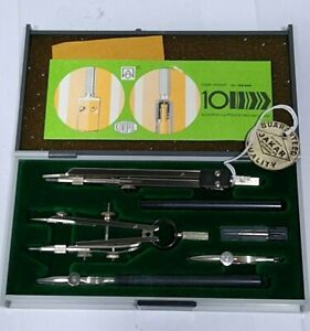 VINTAGE JAKAR KIN  TECHNICAL DRAWING COMPASS SET - NEW