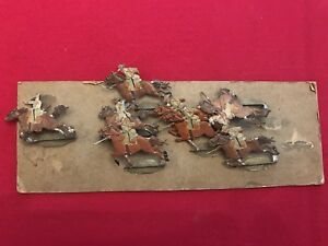 Confederate Calvary Lead Toy Soldiers