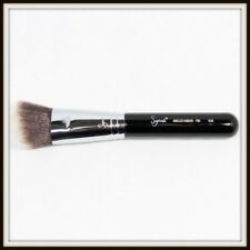 Sigma ANGLED KABUKI F84 Face Makeup Brush Black Full Size New Authentic Unbox