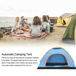Outdoor Camping Tent Pop up Fun Play Tent Automatic Instant Tent for trips