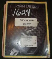 John Deere 4425 Combine Parts Manual Book Catalog Pc-4204
