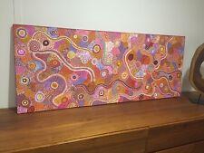 Grande Toile Aborigène Andrea Nungarrayi Martin Côte Artsprice