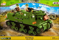 COBI M7 Priest 105mm HMC (2386) - 500 elem. - WWII US self-propelled howitzer