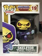 SKELETOR - FUNKO POP! TELEVISION #19 HE-MAN MASTERS OF THE UNIVERSE MOTU - BOXED