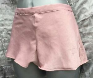 Soft Dusky Pink French Cami Knickers Sizes 10 12
