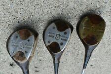 Wilson model 4250 Driver, Brassie & Spoon, stiff steel shafts, Arnold Palmer