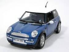 Motor Max 2001 Mini Cooper Blue (Die-cast - 1:18 Scale)
